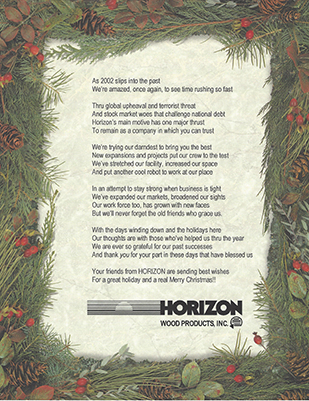 Christmas poem for 2002