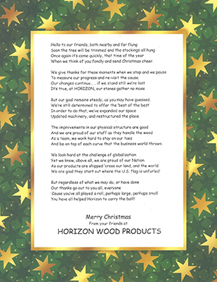 Christmas poem for 2006