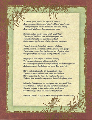 Christmas poem for 2007