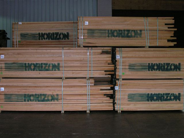 Flitch-Cut Slabs, Boules, and Lumber | Horizon Wood Products